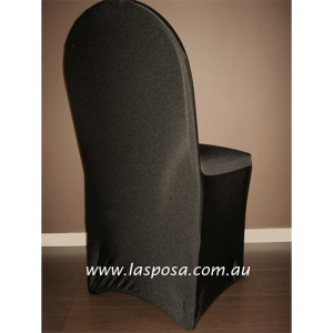 BLACK SP1 LYCRA CHAIR COVER