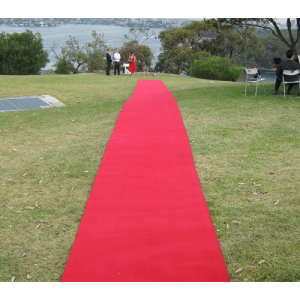 RED WEDDING CARPET RUNNER